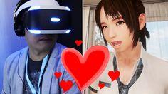 Summer Lesson : on a testé le jeu de drague sur PlayStation VR à la G-Star 2015