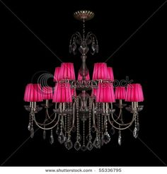 Black chandelier buy black chandeliercrystal chandeliercrystal pink and black chandalier for my future daughters room aloadofball Images
