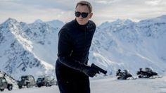 Daniel Craig, filming a scene from 'Spectre'.