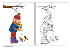 Kleurplaat Jules in de winter Snow Theme, Winter Theme, Bubble Wrap Art, Winter Words, Black Construction Paper, Wooden Snowflakes, Winter Crafts For Kids, Weaving Projects, Glitter Paint