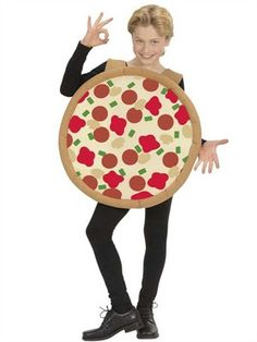 Pizza kostume - BlikfangsKostumer.dk