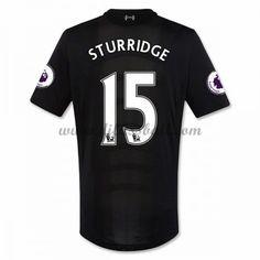 Neues Liverpool 2016-17 Fussball Trikot Sturridge 15 Kurzarm Auswärtstrikot Shop