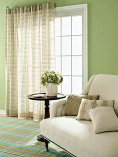 COLOR TIP: Green can be both refreshing and relaxing. Sample several greens before you decide which one to use!