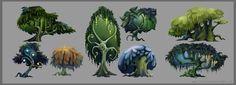 Forest Trees - Concepts by CityState.deviantart.com on @DeviantArt
