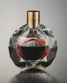 "*""Tresor,"" perfume bottle designed by GEORGES DELHOMME for Lancome, circa 1952"