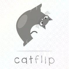 Cat Flip Logo logo