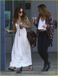 Vanessa Hudgens and Stella ...wish I was her friend so I could steal her clothes!