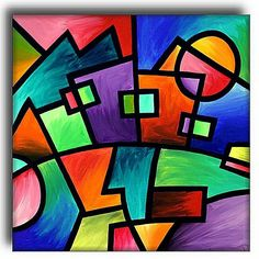 Abstract Art Geometric Shapes | Similar Galleries: Famous Shape ...