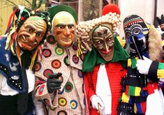 Carnival (Fastnacht) in Rottweil, Baden-Wurttemberg, Germany