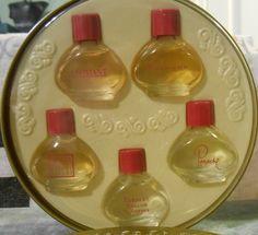Set 5 Yardley Coty Perfume Mini Baroque Panache Lavender L'aimant Vanilla Fields #Yardley Baroque, Fields, Vanilla, Lavender, Perfume, Mini, Vintage, Je T'aime, Primitive