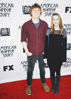 Evan Peters and Taissa Farmiga