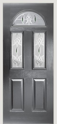 Our Skiddaw Pacific #composite #door in slate grey finish.