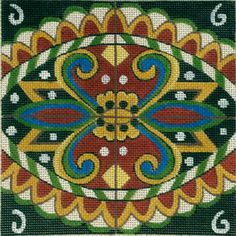 Melissa Prince needlepoint design