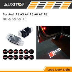 LED CREE H7 Headlight Bulb Car Accessories Headlamp 6000K For Audi A4 A3 A6 A8