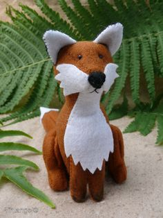 The Fox by Tintangel on Etsy