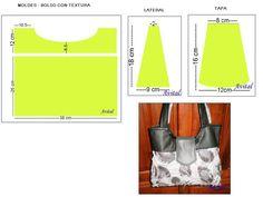 Bolso texturado - animal print 4 (2)- GRAFICO - MOLDES