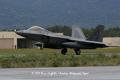 LAUNCH: RED FLAG - ALASKA Lockheed Martin F-22A Raptor 05-4092 PACAF 3rd FW AK