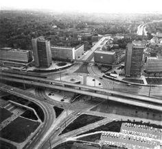 Halle/Saale, Thaelmannplatz (formerly and now, Riebeckplatz), 1970s