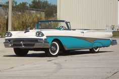 1958 Ford Fairlane 500 Skyliner Maintenance/restoration of old/vintage vehicles: the material for new cogs/casters/gears/pads could be cast polyamide which I (Cast polyamide) can produce. My contact: tatjana.alic@windowslive.com