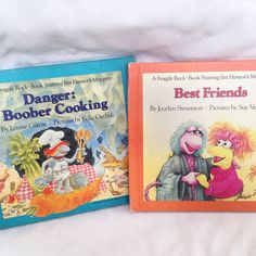 Fraggle Rock Books -Vintage Kids Book 1984 by RetroVintageHeart on Etsy