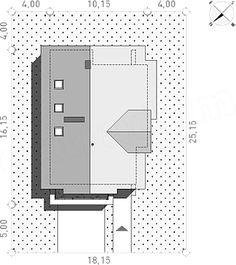 Projekt domu Z Charakterem 3 138,1 m2 - koszt budowy - EXTRADOM 30x40 House Plans, Locker Storage, Floor Plans, Construction, House Design, How To Plan, Interior, Projects, Furniture