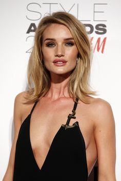 Rosie Huntington-Whiteley - ELLE.com Love this cut. This may be my next look