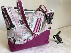 latelier_a_reves Un nouveau cabas très estival  #sacs #sacotin #tissuursule #mode #createurfrancais