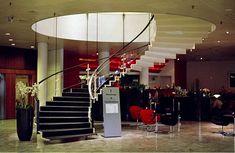 SAS Royal Hotel floating stair!