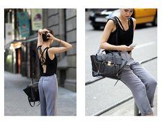 Fake Leather / Back to backless //  #Fashion, #FashionBlog, #FashionBlogger, #Ootd, #OutfitOfTheDay, #Style