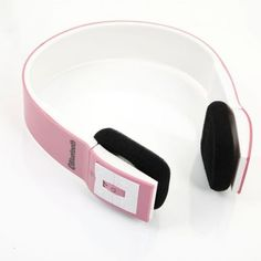This Bluetooth 3.0 Audio Headset 2 Channel Stereo with Microphone Pink & White is a kind of powerful wireless Bluetooth headphone. It can connect all devices with Bluetooth function to play music and enable you to enjoy wonderful songs. #yeswefixgadgets #bluetoothheadset