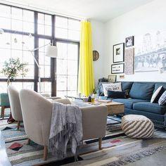 layered living room