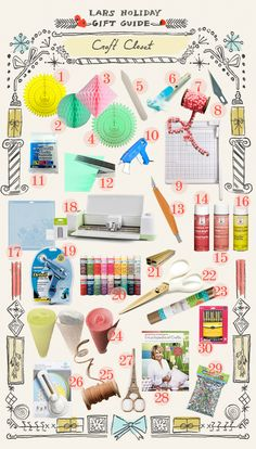 The House That Lars Built.: Holiday gift guide: for the crafter