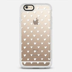 Casetify iPhone 7 Case and Other iPhone Covers - Mini Hearts by Parrott Design Studio | #Casetify