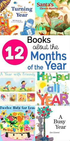 12 Engaging Children's Books About the Months of the Year