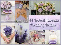 44 Loveliest Lavender Wedding Details  http://www.buzzfeed.com/lilis2/lavender-wedding-details