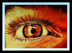 Eye fire