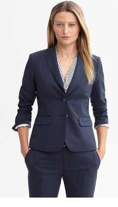 Browse this line of custom suits at Banana Republic and find the right apparel for your individual personality and attitude. Every fashionable man needs a few attractive suits in their closet. Available in a range of inspired styles, a fitted suit from this selection will take your wardrobe to the next level.