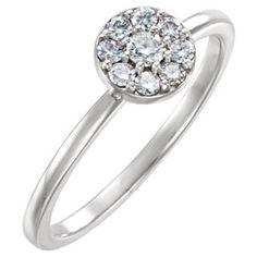 14kt Yellow 1/4 CTW Diamond Ring