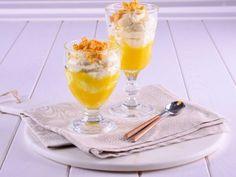 Receta   Mousse de chocolate blanco y mango - canalcocina.es