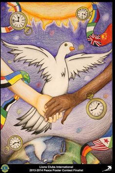 Finalist from Massachusetts, USA (Sturbridge Lions Club) - 2013-2014 Peace Poster Contest