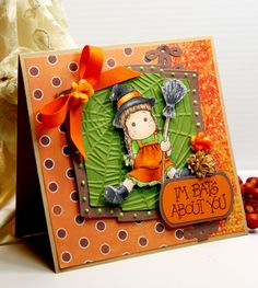 Halloween Card  Handmade Card  Greeting Card  I'm by CardInspired, $3.95