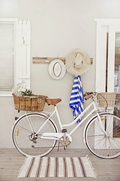 Can't pass up a picture of a bike and this is practically the same as my work bicycle / white