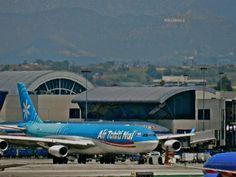 Air Tahiti Nui A340 -300 at LAX