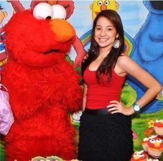 Zo,n grote Elmo wil ik ook.