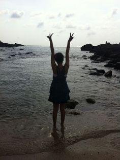 hallo beach~