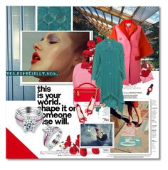 """#ruffles and diamonds - Nereid.com"" by undici ❤ liked on Polyvore featuring Mishka, Alasdair, Antonio Berardi, Kekoo, Moschino, Miu Miu, Orla Kiely and nereidjewelry"