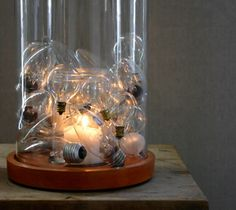 Candlelit Centerpiece | 20 Brilliant Ways to Repurpose Lightbulbs