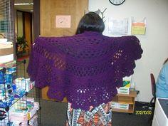My full half moon shawl