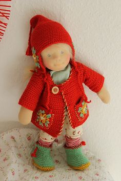 Lissy in her winter outfit | Flickr - Photo Sharing!