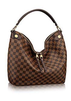 Louis Vuitton Duomo Hobo Damier Ebene Women s Handbags 7c4bf4d9d7213